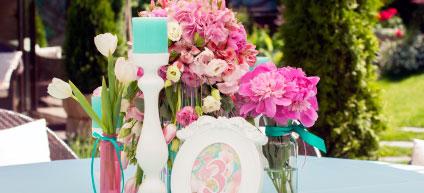 La d�coration de mariage