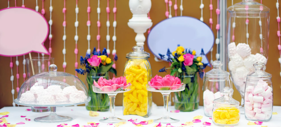 Exemple d'un thème de décoration pour un mariage
