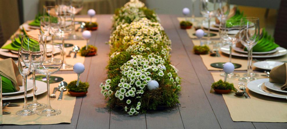 Exemple d'un thème de décoration pour une table