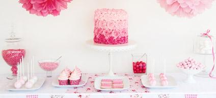 exemple de décoration d'anniversaire