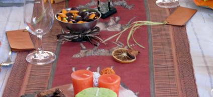 exemple de décoration pour une baptême